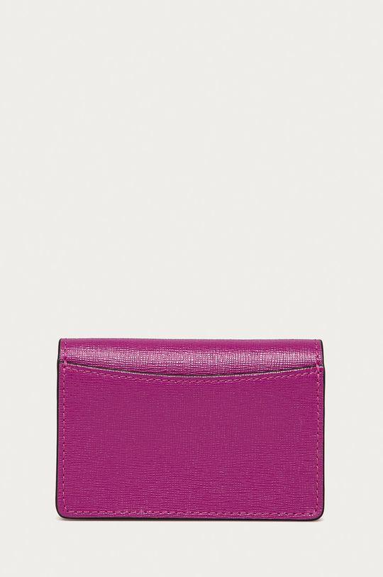 purpurová Furla - Kožená peněženka Babylon