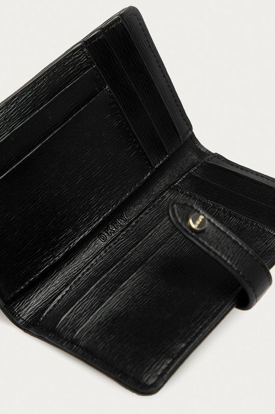 černá Dkny - Kožená peněženka