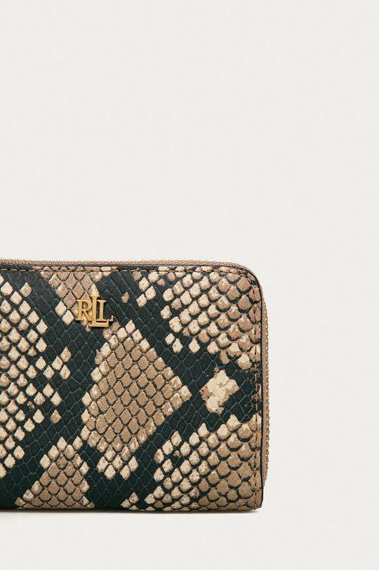 Lauren Ralph Lauren - Kožená peňaženka telová