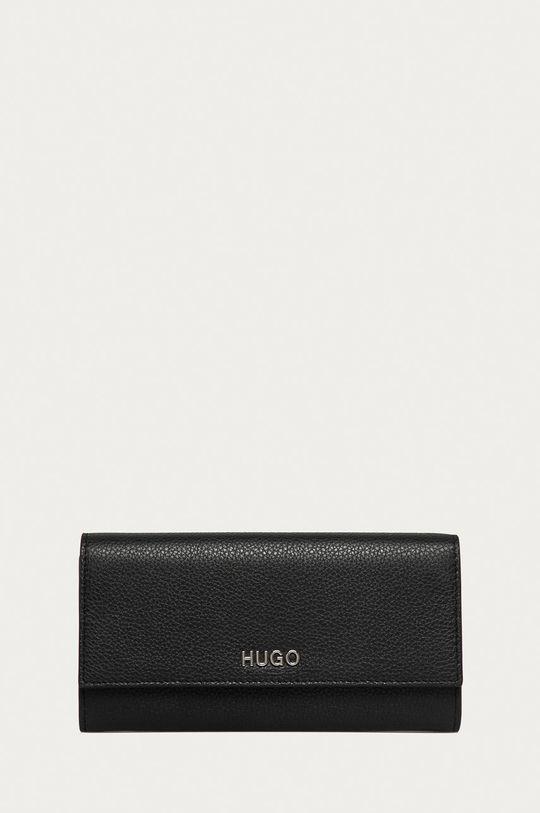 negru Hugo - Portofel de piele De femei
