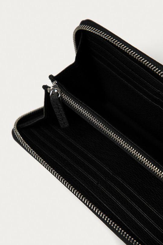 Hugo - Kožená peněženka černá