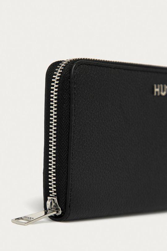 černá Hugo - Kožená peněženka
