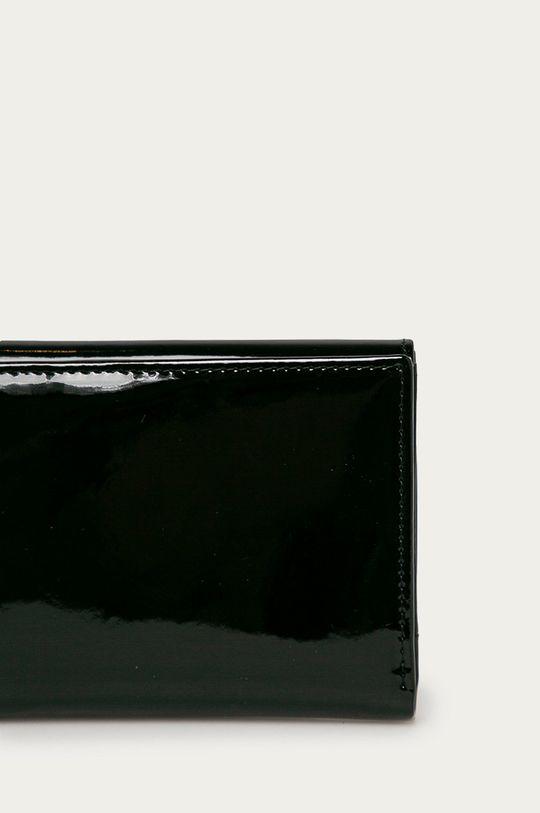 Nobo - Portfel skórzany czarny