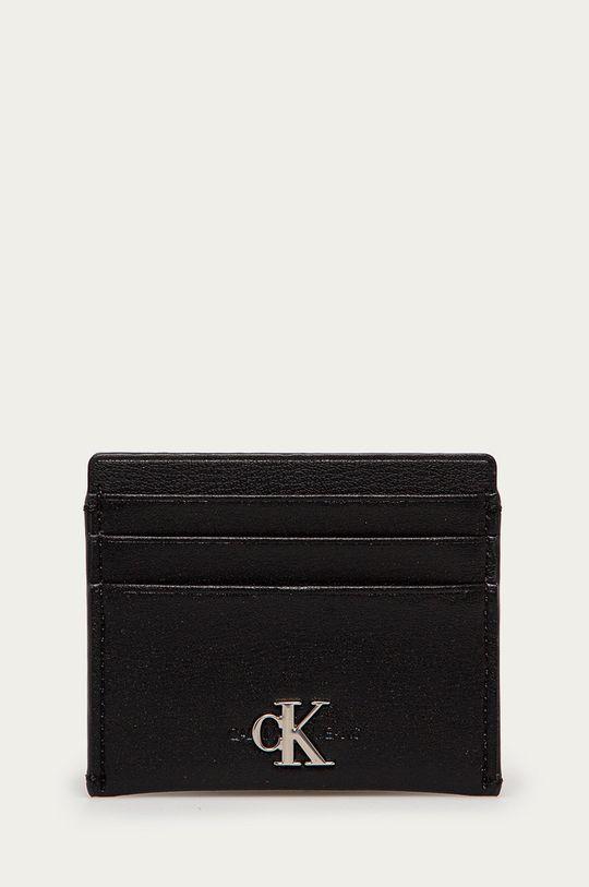 czarny Calvin Klein Jeans - Portfel skórzany Damski