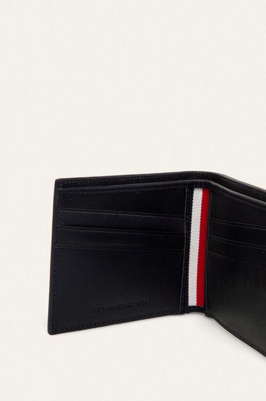 Tommy Hilfiger - Kožená peněženka námořnická modř
