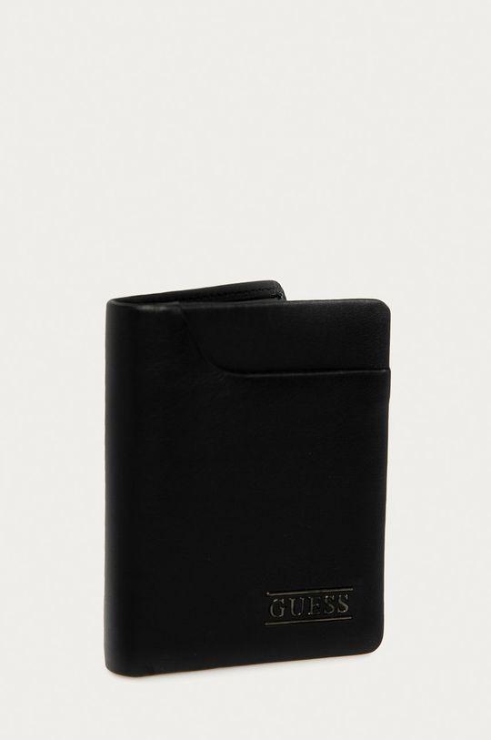 Guess Jeans - Portfel skórzany 100 % Skóra naturalna