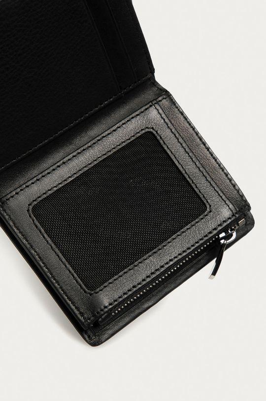 czarny Guess Jeans - Portfel skórzany