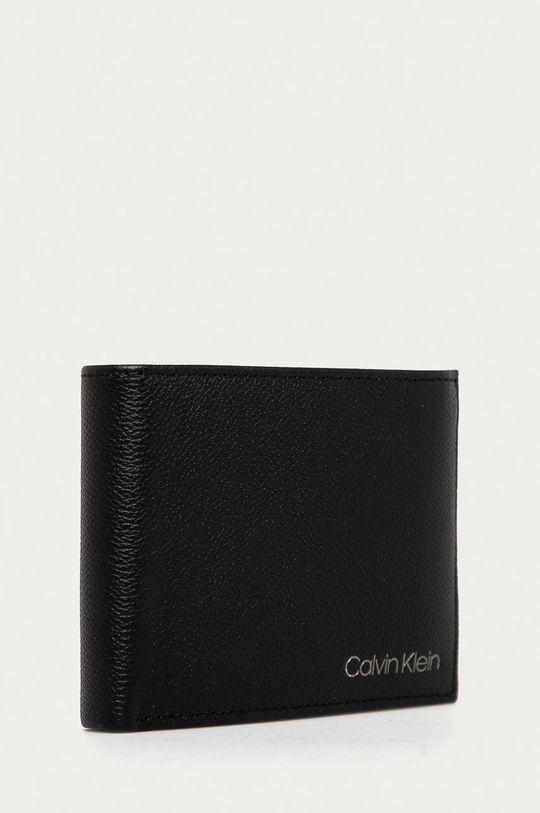 čierna Calvin Klein - Kožená peňaženka