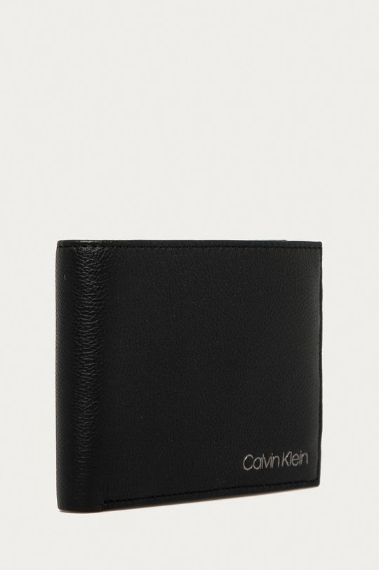 Calvin Klein - Portofel de piele  Piele naturala