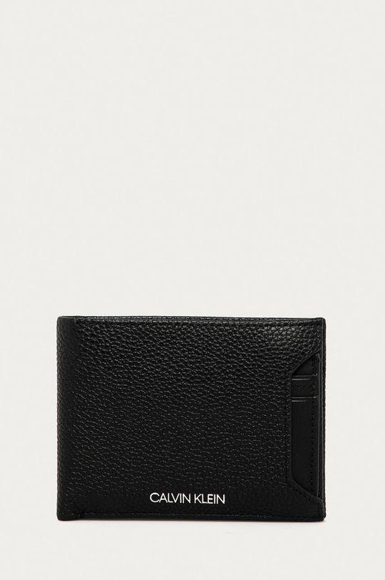 čierna Calvin Klein - Kožená peňaženka Pánsky