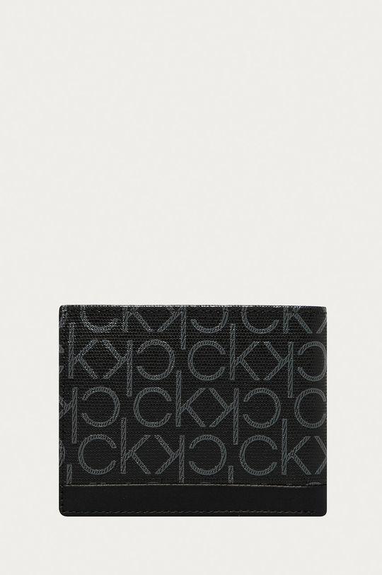Calvin Klein - Portofel  80% Bumbac, 20% Piele naturala