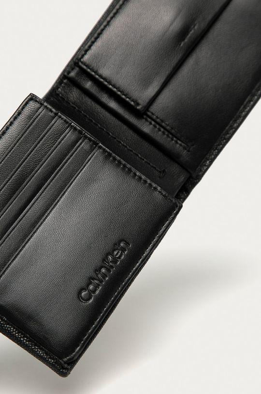 Calvin Klein - Portofel de piele negru
