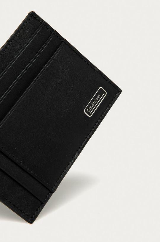 negru Calvin Klein - Portofel de piele