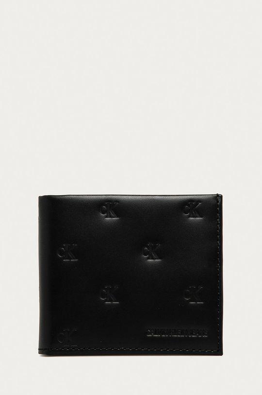 negru Calvin Klein Jeans - Portofel de piele De bărbați