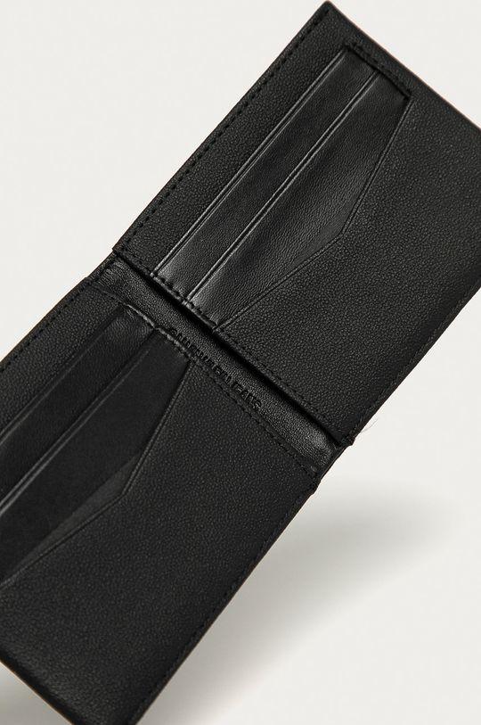 Calvin Klein Jeans - Portofel de piele negru