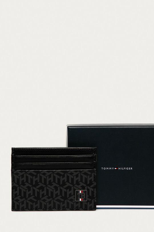 černá Tommy Hilfiger - Kožená peněženka