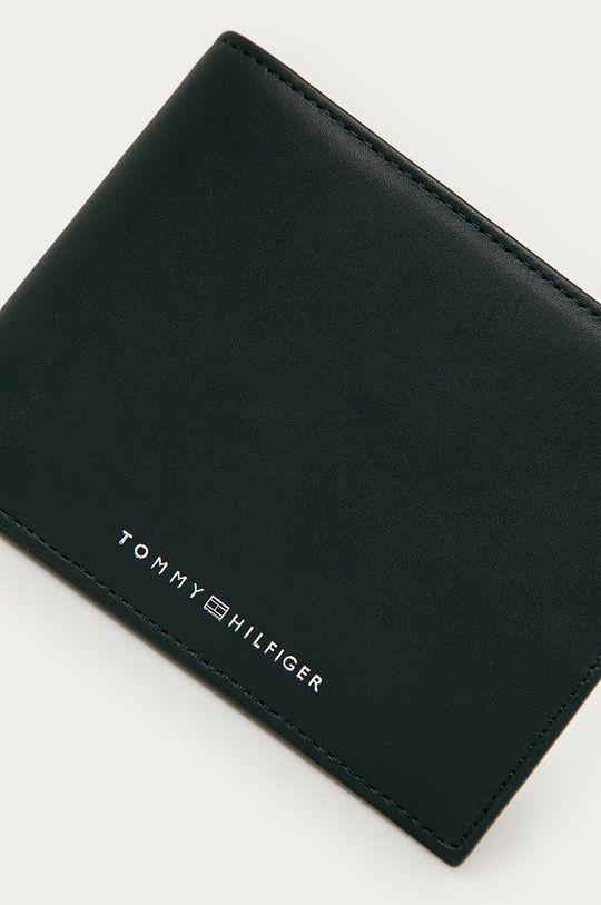 Tommy Hilfiger - Portfel skórzany granatowy