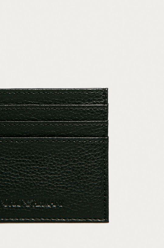 Emporio Armani - Peňaženka + kľúčenka  Podšívka: 100% Polyester Základná látka: 100% Polyuretán