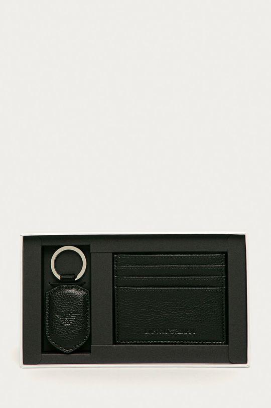 Emporio Armani - Peňaženka + kľúčenka Pánsky
