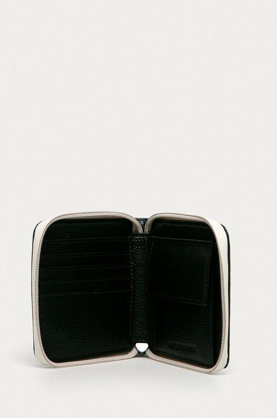 Emporio Armani - Portfel skórzany granatowy
