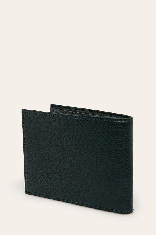 Emporio Armani - Kožená peněženka <p>  Podšívka: 100% Polyester  Hlavní materiál: 100% Přírodní kůže  Provedení: 100% Polyuretan</p>