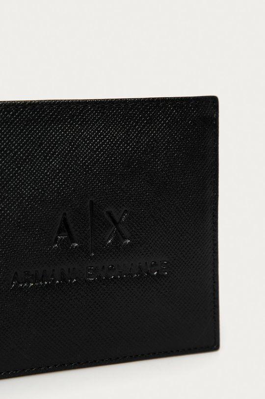 Armani Exchange - Kožená peněženka  100% Přírodní kůže