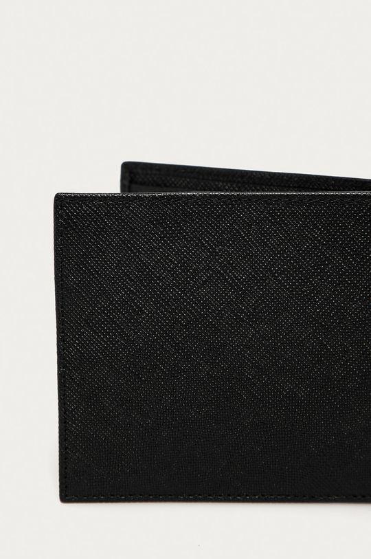 černá Armani Exchange - Kožená peněženka