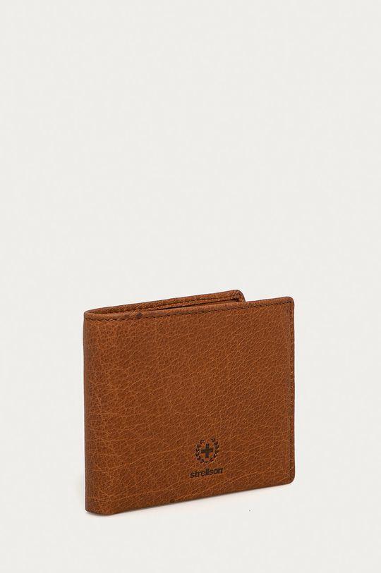 Strellson - Portfel skórzany brązowy