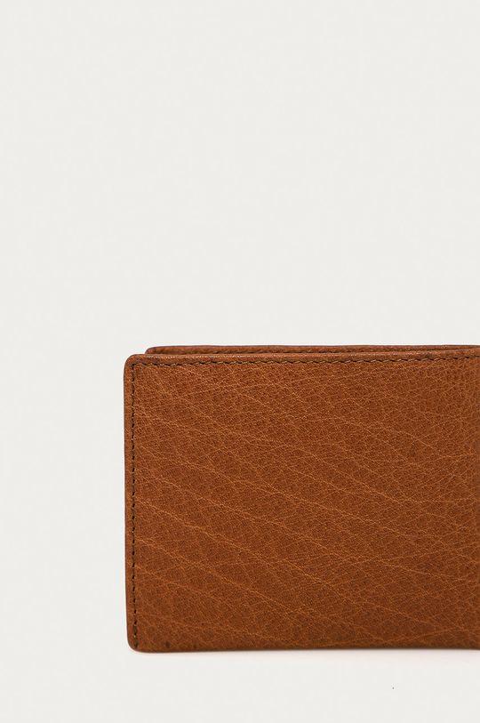 brązowy Strellson - Portfel skórzany