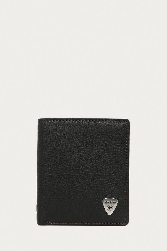 ciemny brązowy Strellson - Portfel skórzany Męski