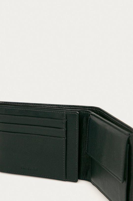 Samsonite - Kožená peňaženka tmavomodrá