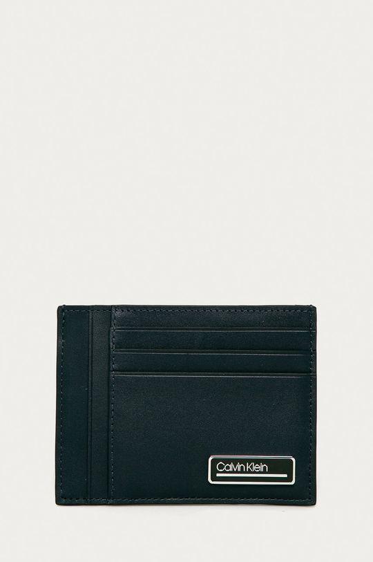 bleumarin Calvin Klein - Portofel de piele De bărbați