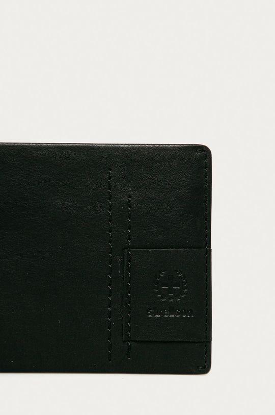 Strellson - Bőr pénztárca fekete