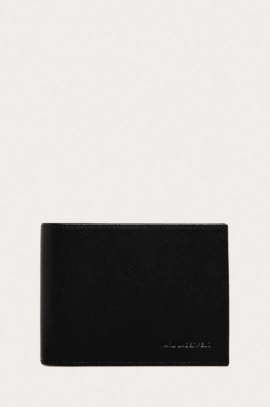 černá Karl Lagerfeld - Kožená peněženka Pánský