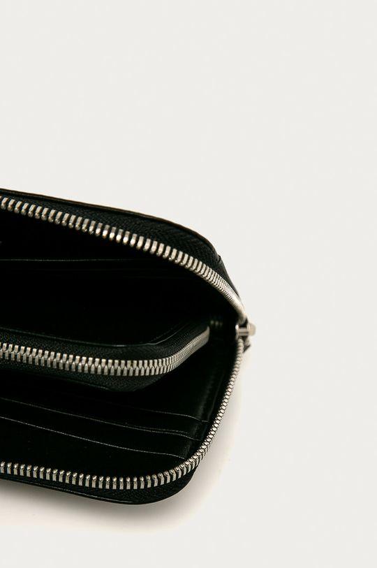 čierna Calvin Klein Jeans - Kožená peňaženka