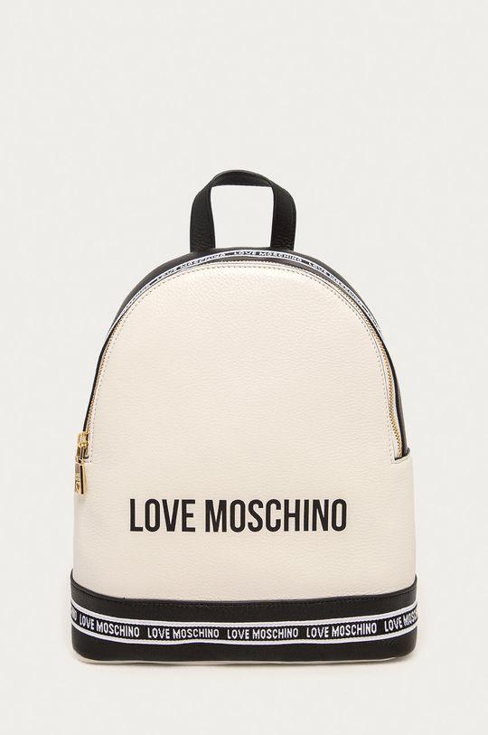 білий Love Moschino - Шкіряний рюкзак Жіночий