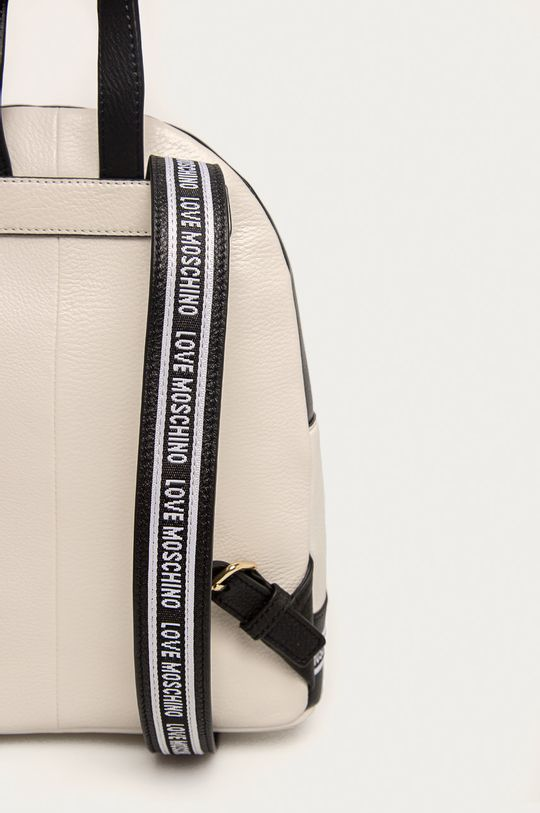 білий Love Moschino - Шкіряний рюкзак
