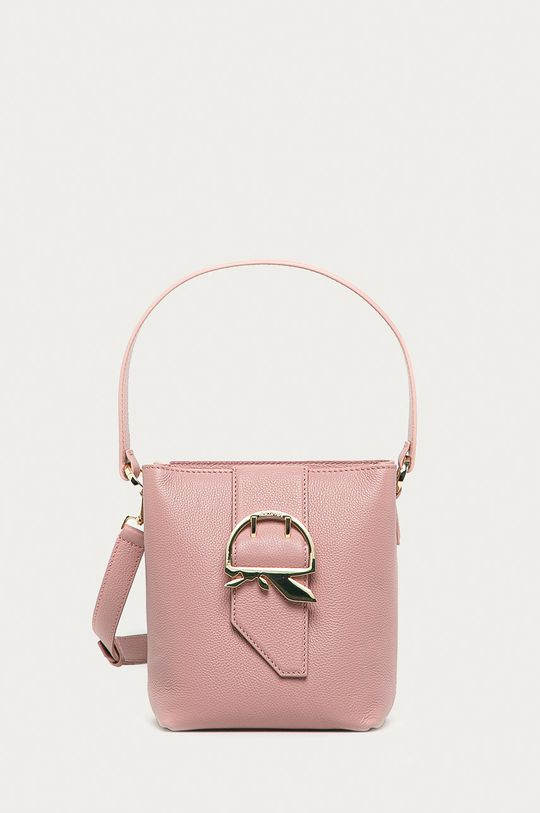 rózsaszín Patrizia Pepe - Bőr táska Női