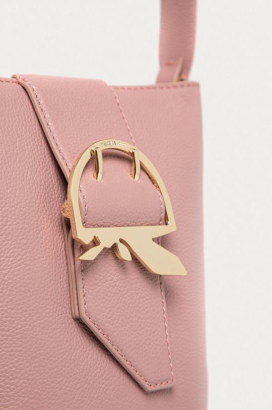Patrizia Pepe - Bőr táska rózsaszín