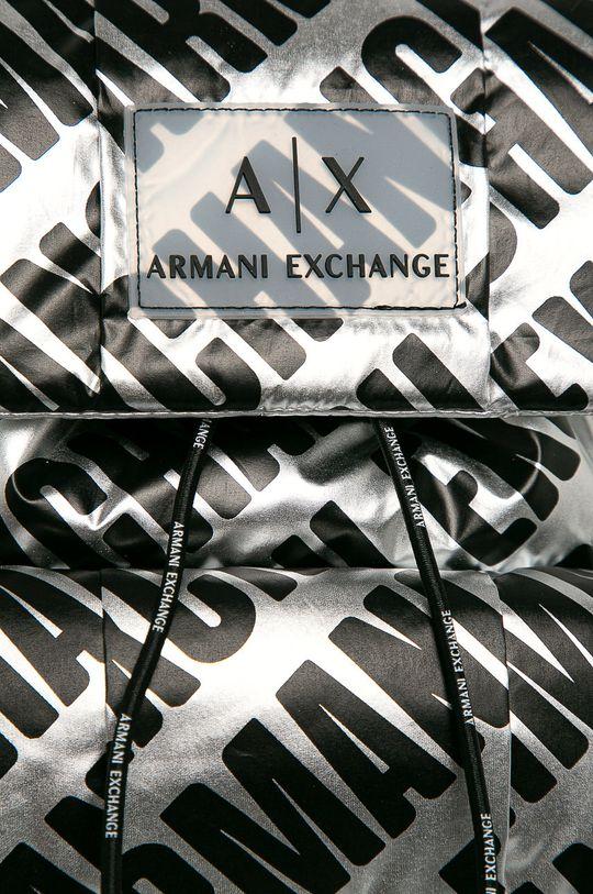 Armani Exchange - Batoh stříbrná