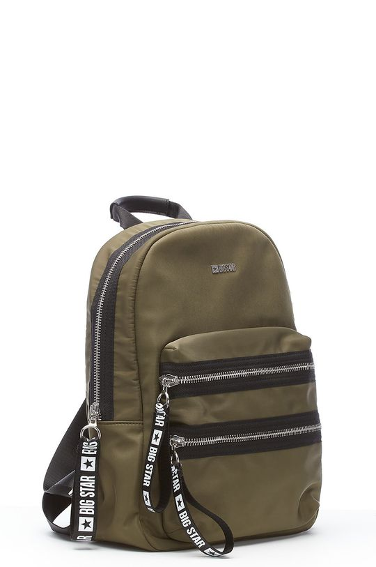 Big Star - Рюкзак темно-зелений
