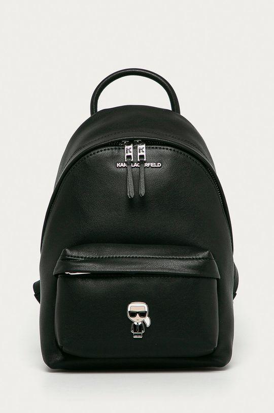 чорний Karl Lagerfeld - Шкіряний рюкзак Жіночий