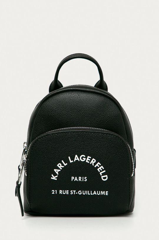 čierna Karl Lagerfeld - Kožený ruksak Dámsky