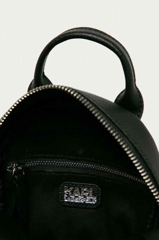 čierna Karl Lagerfeld - Kožený ruksak