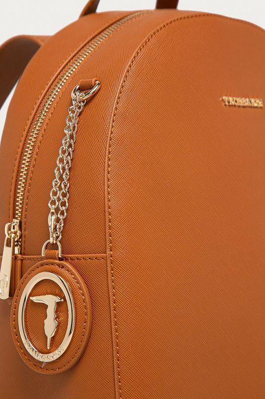 Trussardi Jeans - Rucsac maro auriu