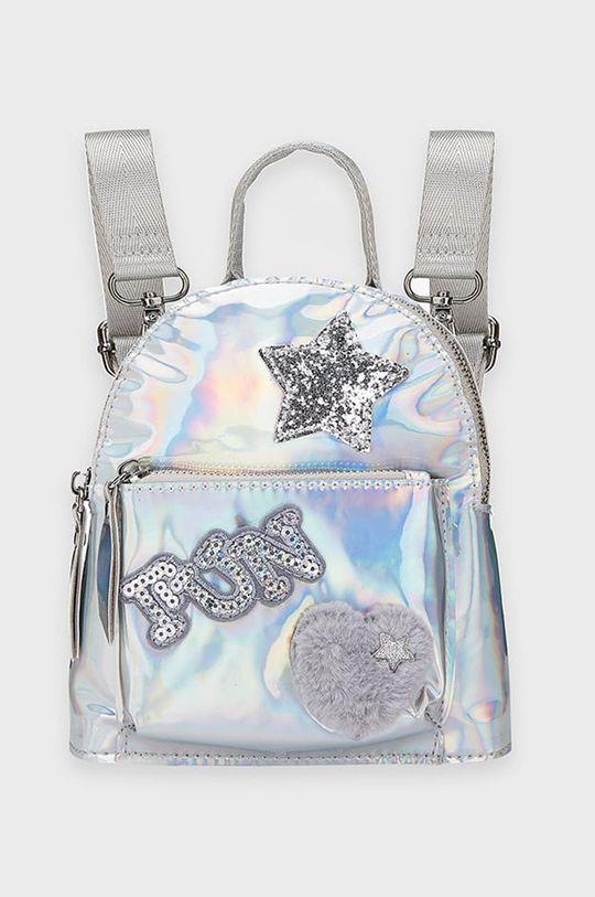 srebrny Mayoral - Plecak dziecięcy Dziewczęcy