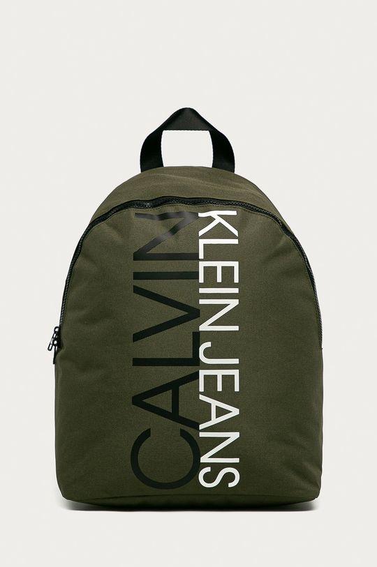 tlumená zelená Calvin Klein Jeans - Batoh Dětský