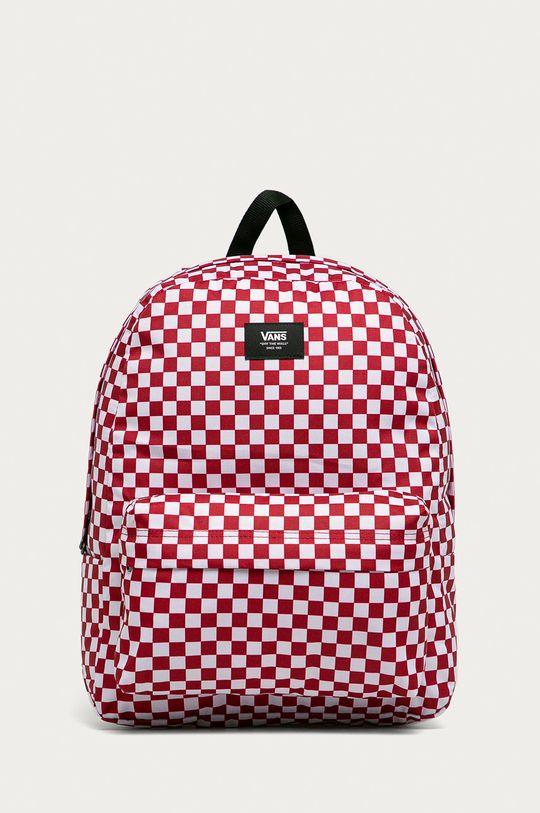 czerwony Vans - Plecak Old Skool Męski