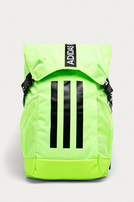 żółto - zielony adidas Performance - Plecak Męski