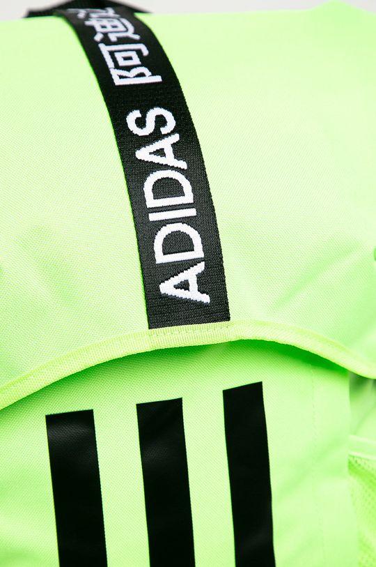 adidas Performance - Plecak żółto - zielony
